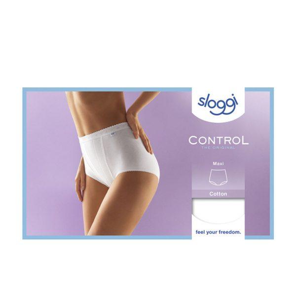 Sloggi Dames Control Maxi Wit Verpakking