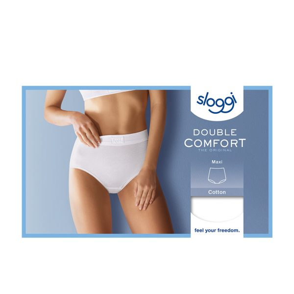 Sloggi Dames Maxi300 Wit Verpakking