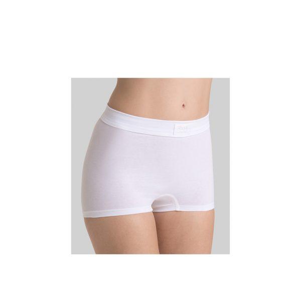 Sloggi Dames Short300 Wit Model Voorkant
