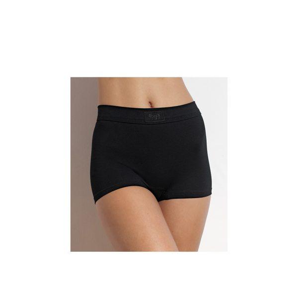 Sloggi Dames Short300 Zwart Model Voorkant