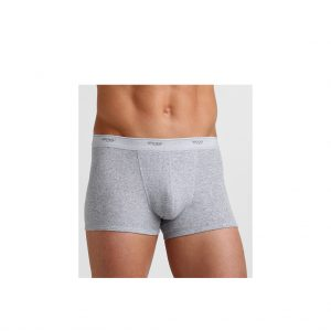 Sloggi-basic-short-grey-boxer-front-view