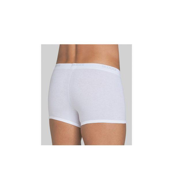 Sloggi-basic-shorts-white-back-view