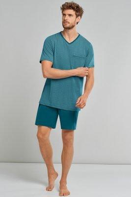 Heren Zomer 2021 Pyjama Schiesser 10