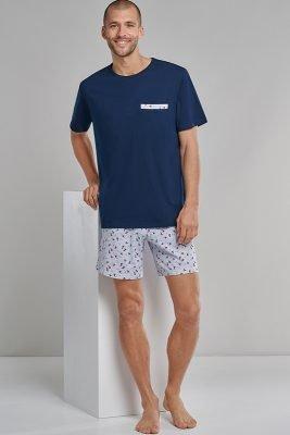 Heren Zomer 2021 Pyjama Schiesser 7